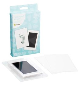 Pearhead Black Handprint or Footprint Clean-Touch Ink Pad