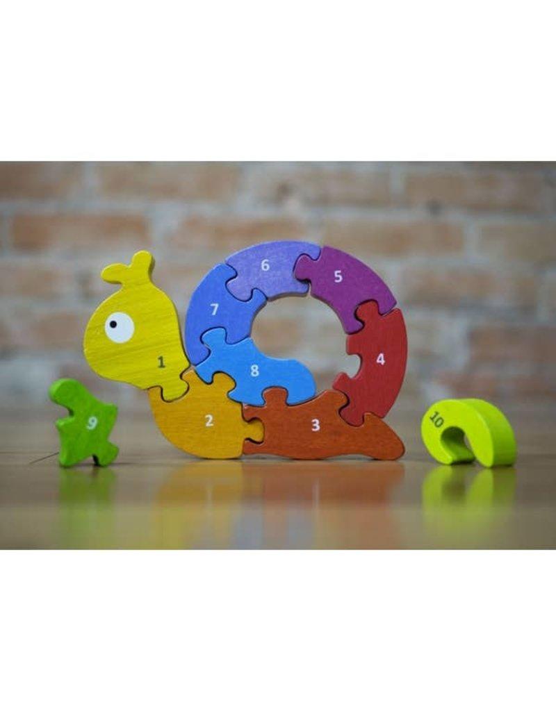 BeginAgain Number Snail Puzzle