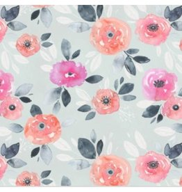 Pello Pello- Megan Light pink blue floral