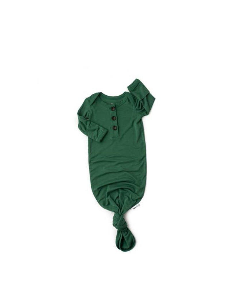 Gigi & Max Gigi & Max Knotted Newborn Gown: