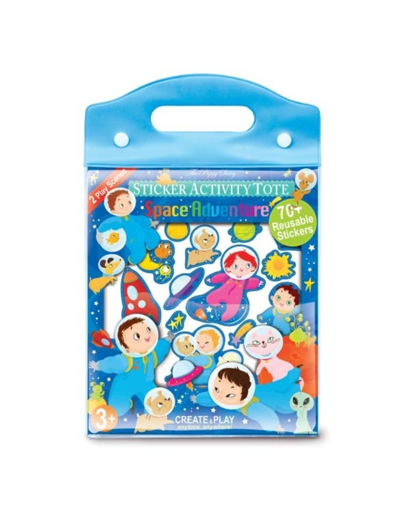 The Piggy Story Space Adventure Sticker Activity Tote