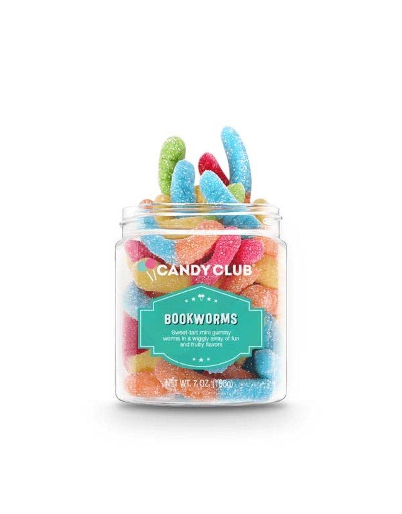 Candy Club Candy Club- Bookworms 6oz