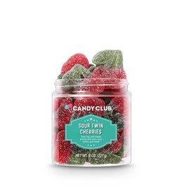 Candy Club Candy Club- Sour Twin Cherries 6oz