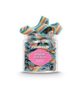 Candy Club Candy Club- Rainbow Sour Belts 6oz