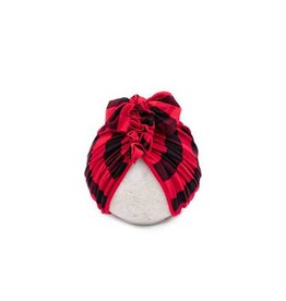 BluTaylor Limited Head Wrap: Red Buffalo 0-6 mos