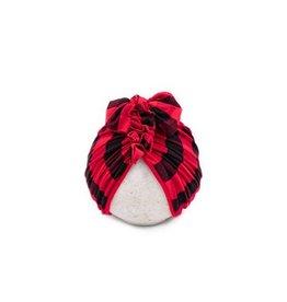 BluTaylor Limited Head Wrap: Red Buffalo 0-6 mos