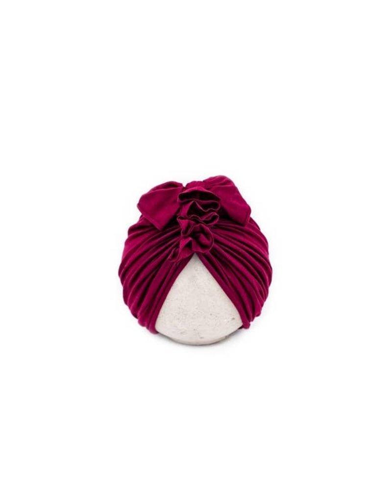 BluTaylor Limited Head Wrap Hat- 0-6 MONTHS