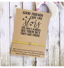 wishlets Wishlets-  Good Friends are like stars