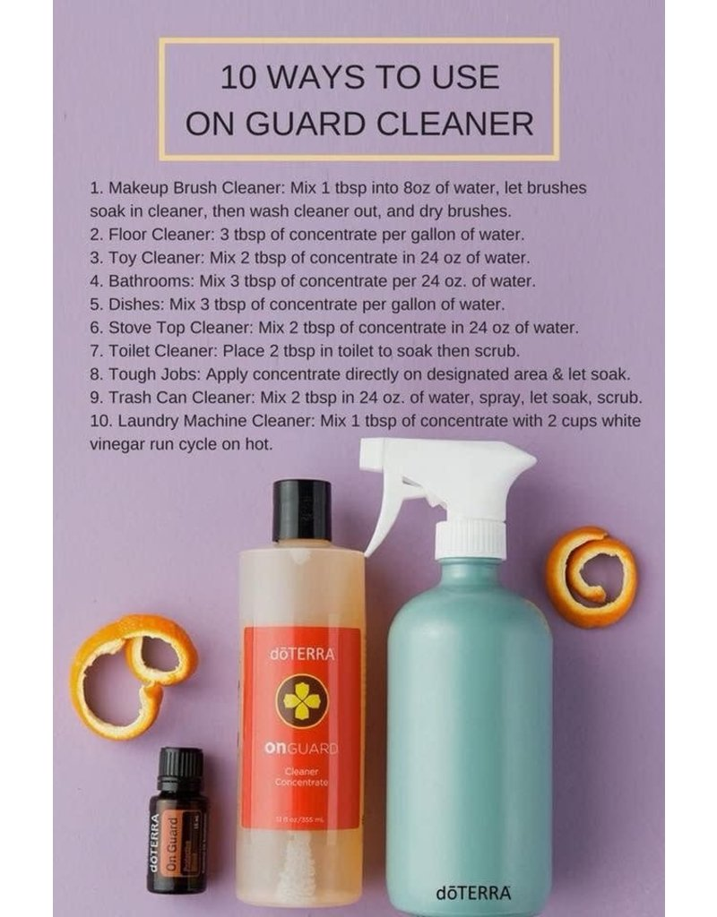 Doterra On Guard Cleaner Concentrate 12oz