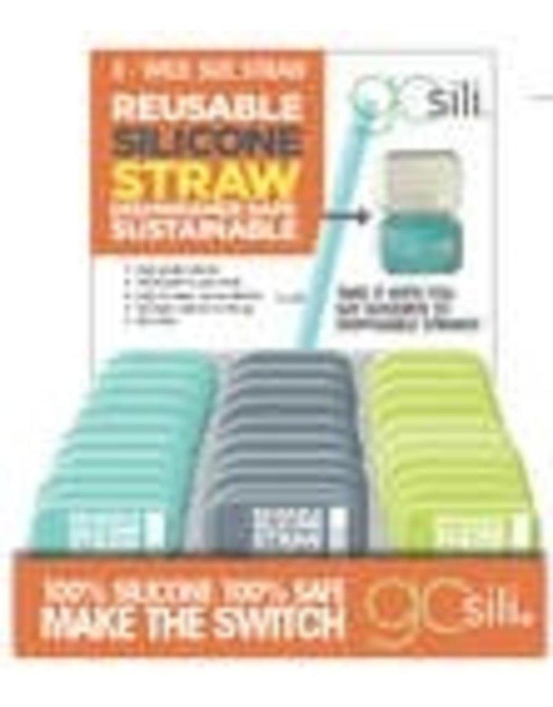 go sili Go Sili: Extra Wide Straw w/tin