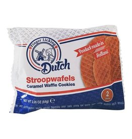 Finger Licking Dutch Stroopwafels- 2 Cookies