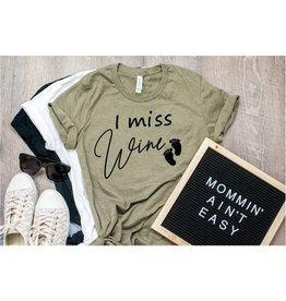 Top Crate I miss wine shirt