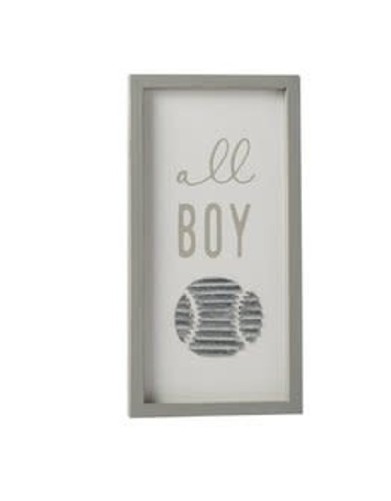ALL BOY PLAQUE