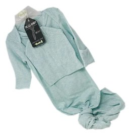 Woombie Woombie Knot Gown- minty Green