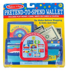 Melissa & Doug Melissa & Doug Pretend to Spend Wallet