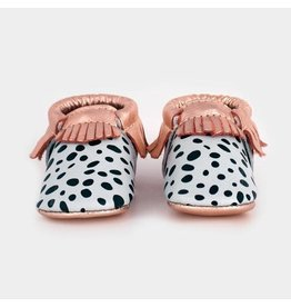 Freshly Picked Dalmatian Moccasins