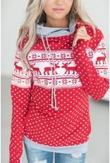 AmpersandAve DoubleHood™ Sweatshirt - Hoiday