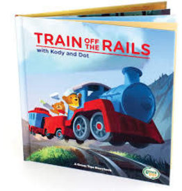 Green Toys Green Toys Book Train Off the Rails