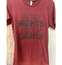 Top Crate Friday Nights Stadium Lights shirt