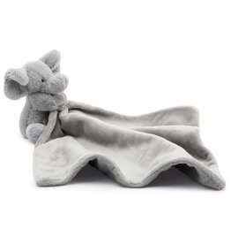 jellycat Bashful Grey Elephant Soother