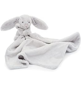 jellycat Bashful Grey Bunny Soother