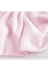 The Sugar House Sugar + Maple Muslin Swaddle - Baby Pink