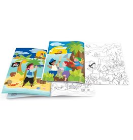 The Piggy Story Pirates Ahoy Dry Erase Coloring Book