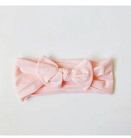 The Sugar House Sugar + Maple Nylon Bow- Pink
