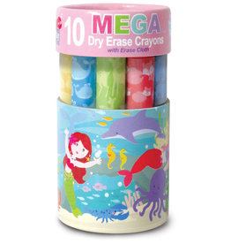 The Piggy Story Magical Mermaid  Dry Erase Mega Crayons