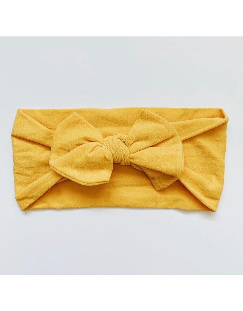 The Sugar House Sugar + Maple Nylon Bow- Ginger