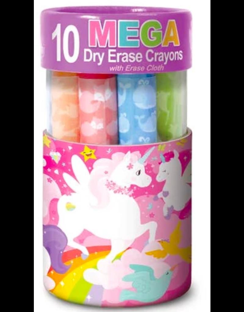 The Piggy Story Unicorn Land Dry Erase Mega Crayons