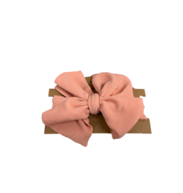 Rachel's Ribbons Fabric Headwrap XL Bow
