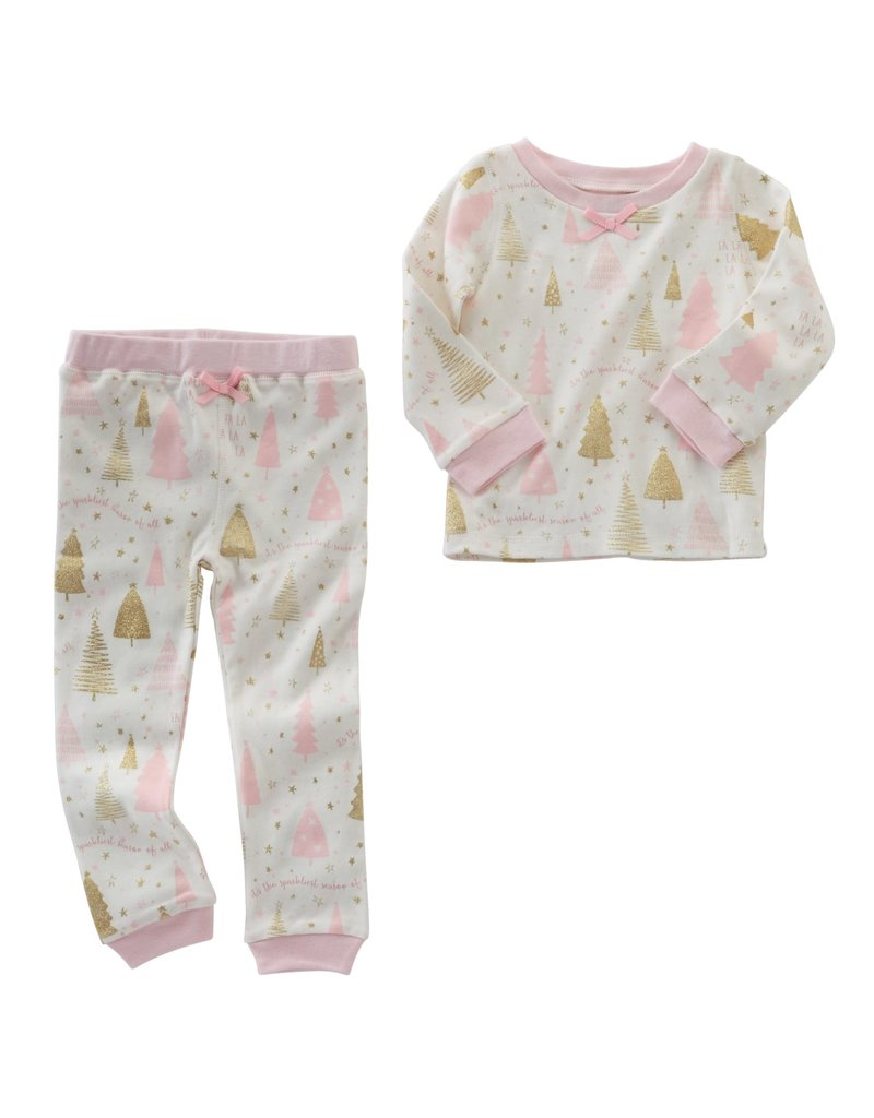 Mud Pie SPARKLIEST SEASON PAJAMAS 4T