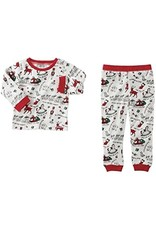 Mud Pie VERY MERRY RED CHRISTMAS PJS 4T