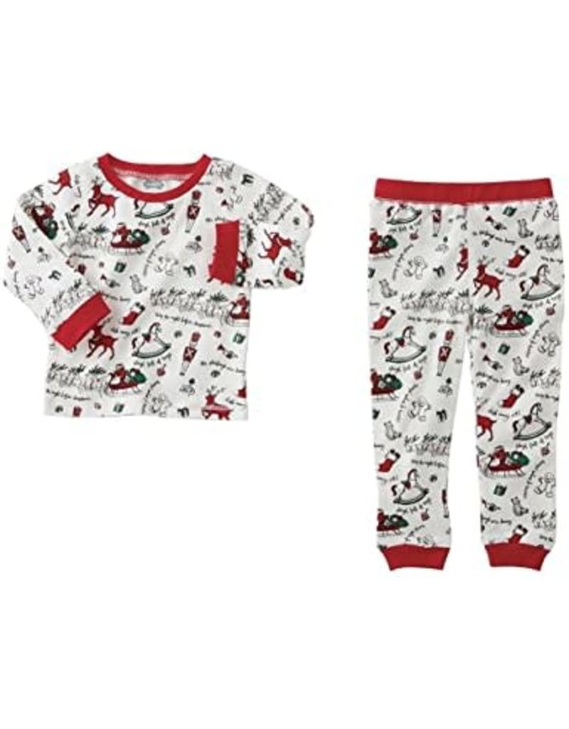 VERY MERRY RED CHRISTMAS PJS