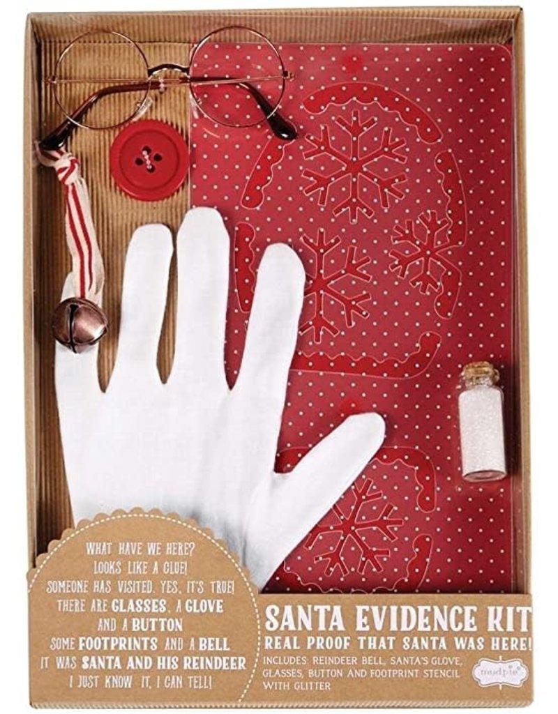 Mud Pie Mudpie Santa Evidence Kit