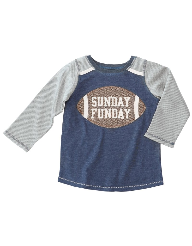Mud Pie SUNDAY FUNDAY TSHIRT S