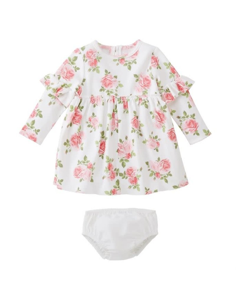 Mud Pie Floral Dress with Bloomer