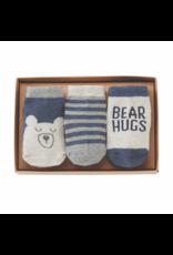 Mud Pie Bear Hug Sock set