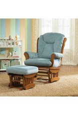 Best Chairs Manuel Glider with ottoman