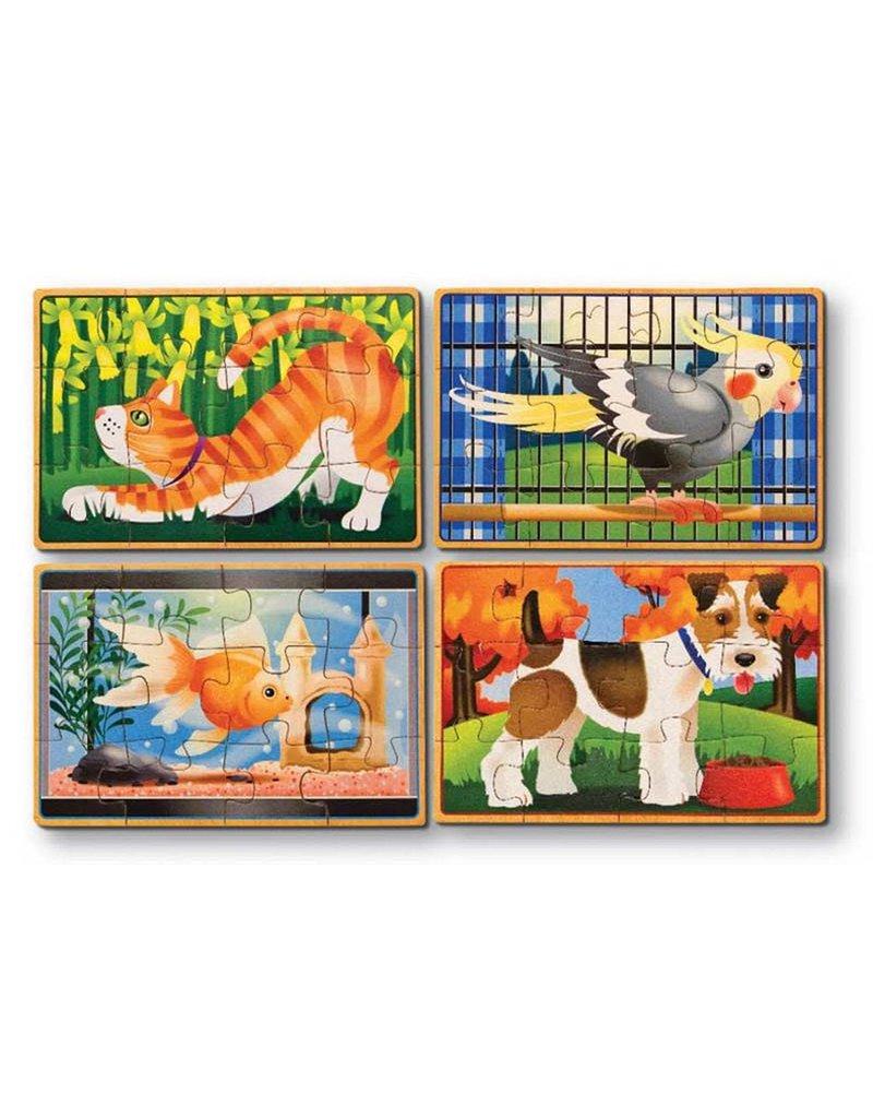 Melissa & Doug Pets Puzzles in a Box