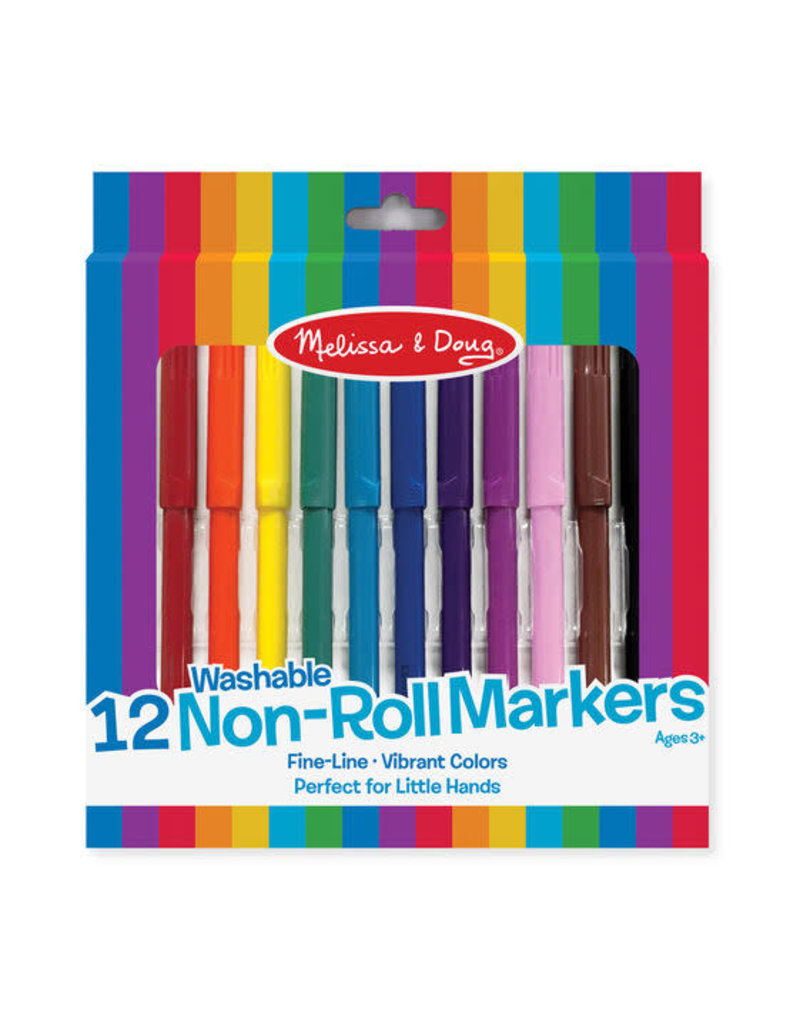Melissa & Doug Non-Roll Markers