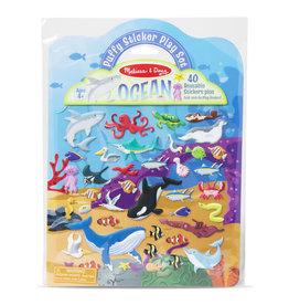 Melissa & Doug Puffy Sticker Play Set- Ocean