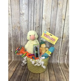 Easter Basket-Yellow