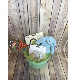 Easter Basket- aqua
