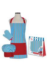 Handstand Kitchen Whimsey Striped Deluxe Child boxed set