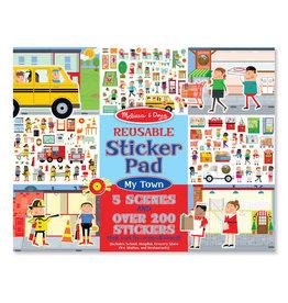 Melissa & Doug Melissa & Doug Reusable Sticker Pad- My Town
