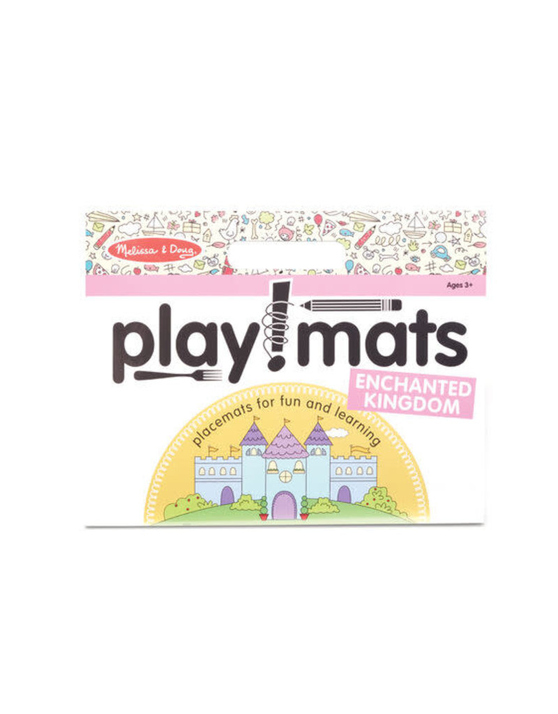 Melissa & Doug Playmats - Enchanted Kingdom