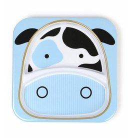Skip Hop Skip Hop Zoo Plate Cow