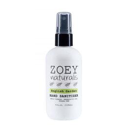 Zoey Naturals Zoey Naturals Hand Sanitizer- English Garden